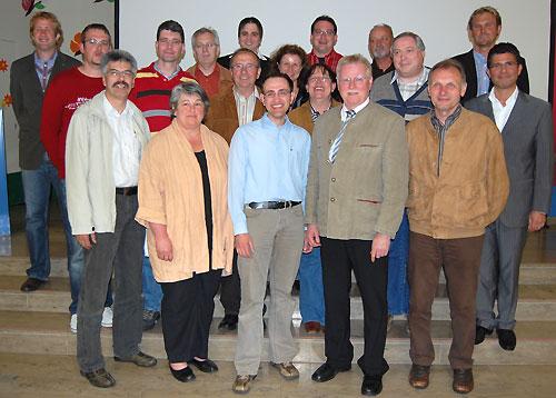 Vorstandschaft April 2008